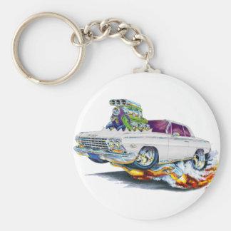 1962-63 Impala White Car Keychains