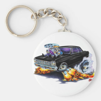 1962-65 Nova Black Car Keychain