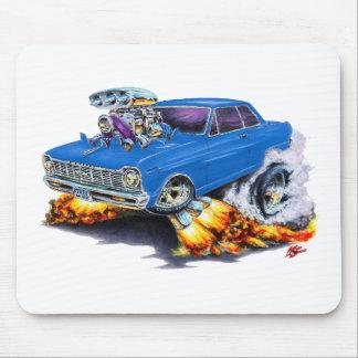 1962-65 Nova Blue Car Mouse Pad