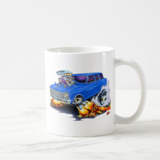 1962-65 Nova Blue Wagon Classic White Coffee Mug
