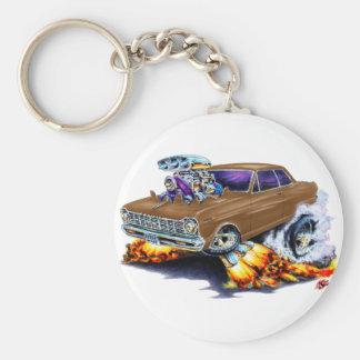 1962-65 Nova Brown Car Keychain
