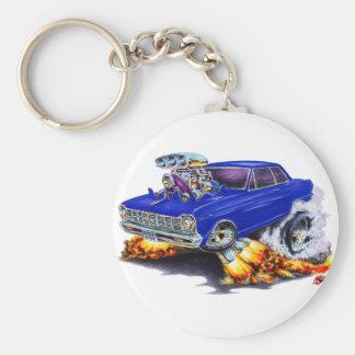 1962-65 Nova Dark Blue Car Key Chain