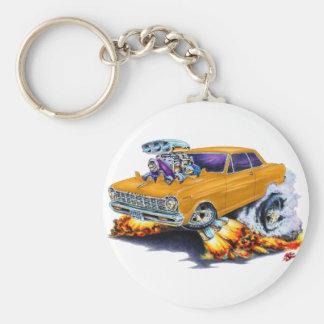 1962-65 Nova Orange Car Keychain