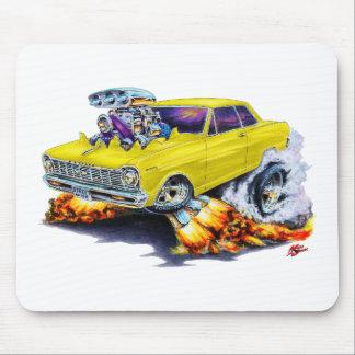 1962-65 Nova Yellow Car Mouse Pad