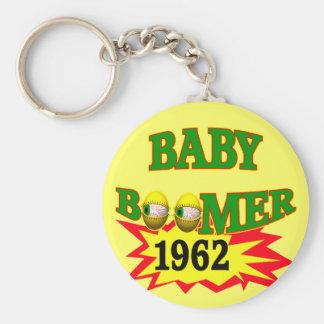 1962 Baby Boomer Keychain