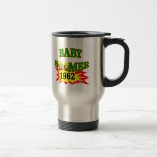 1962 Baby Boomer 15 Oz Stainless Steel Travel Mug