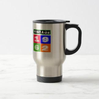 1962 Birthday Designs 15 Oz Stainless Steel Travel Mug
