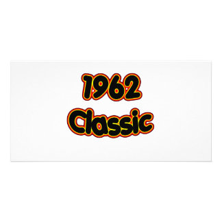 1962 Classic Personalized Photo Card