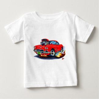 1962 Corvette Red Car Baby T-Shirt