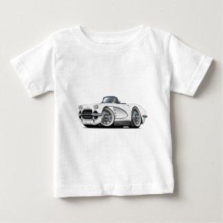 1962 Corvette White Convertible Baby T-Shirt