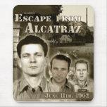 1962 Escape from Alcatraz Mouse Pad