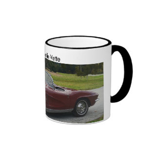 1962 Fuel Injected Corvette Ringer Coffee Mug
