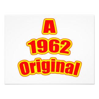 1962 Original Red Custom Announcements