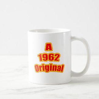 1962 Original Red Coffee Mugs