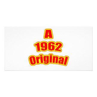 1962 Original Red Custom Photo Card