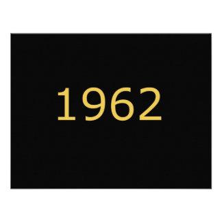 1962 PERSONALIZED INVITATION