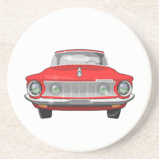 1962 Plymouth Fury Drink Coaster