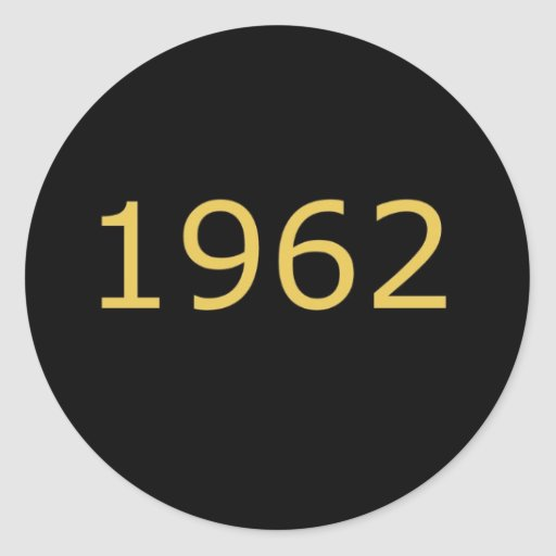 1962 STICKERS