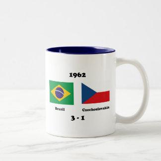 1962 TAZA DE DOS TONOS