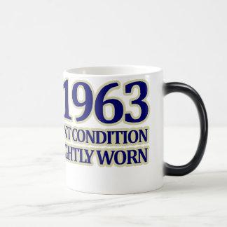 1963, 50th Birthday 11 Oz Magic Heat Color-Changing Coffee Mug