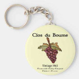 1963 Baby Boomer Biorthday Gifts Basic Round Button Keychain