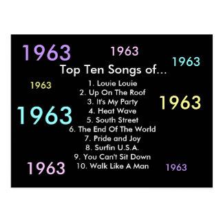 1963 canciones tarjeta postal