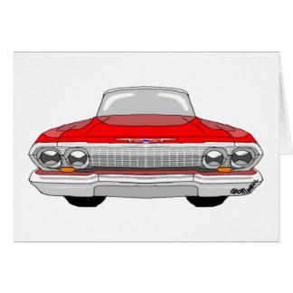 1963 Chevrolet Impala Card