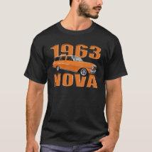 1963 chevy II nova longroof wagon in orange T-Shirt