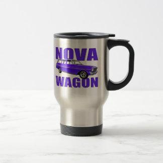 1963 chevy II nova wagon blue Coffee Mug
