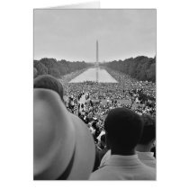 1963 Civil Rights March on Washington D.C. Card