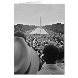 1963 Civil Rights March on Washington D.C. Card