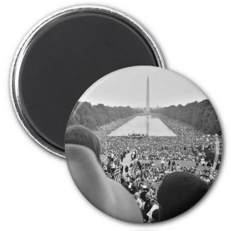 1963 Civil Rights March on Washington D.C. 2 Inch Round Magnet