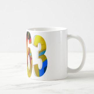 1963 CLASSIC WHITE COFFEE MUG