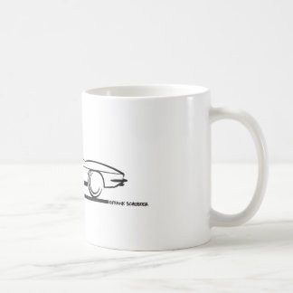 1963 Corvette Convertible Classic White Coffee Mug
