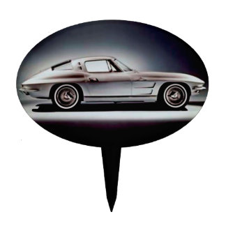 1963 Corvette Sting Ray Cake Toppers