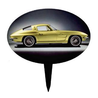 1963 Corvette Sting Ray Cake Topper