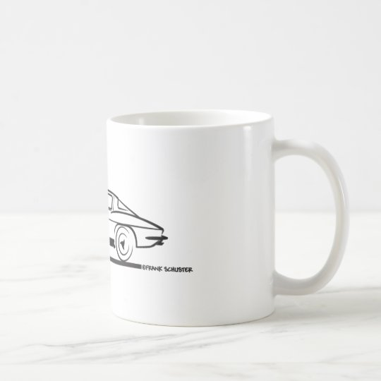 1963 Corvette Sting Ray Split Window Coupe Coffee Mug