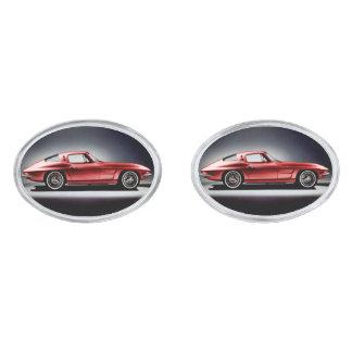 1963 Corvette Sting Ray Cuff Links