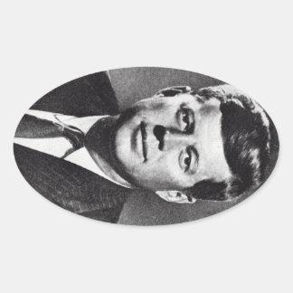 1963 en Memoriam, presidente Kennedy Pegatinas De Óval