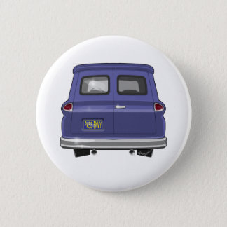 1963 GMC Chevy Panel Truck Pinback Button