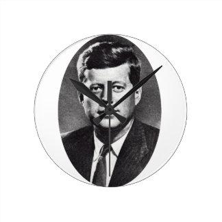 1963 In Memoriam, President Kennedy Round Clocks