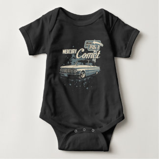 1963 Mercury Comet - Vintage Baby Bodysuit