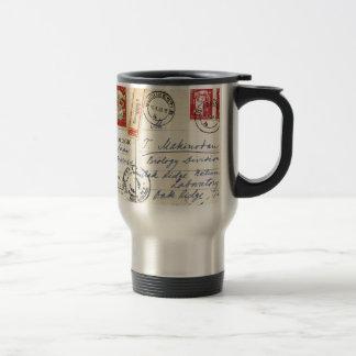 1963 - Oncology Romania to Oak Ridge Lab USA Coffee Mugs