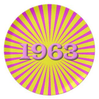 1963 PLATOS PARA FIESTAS