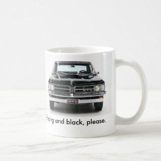 1963 Pontiac GTO Super Duty Classic White Coffee Mug