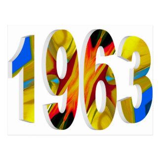 1963 POSTCARD