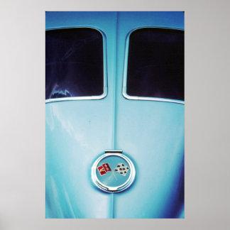 1963 Split Window Poster
