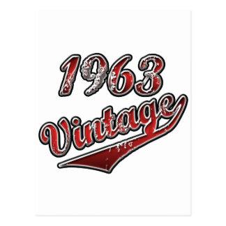 1963 Vintage Postcard