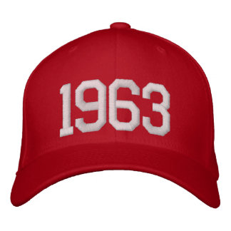 1963 Year Embroidered Baseball Hat