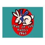 1963 Year of the Rabbit Apparel and Gifts Postcards
